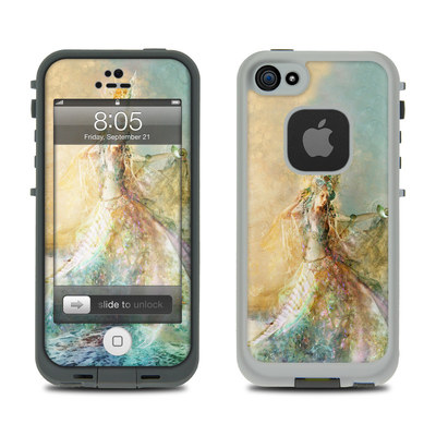Lifeproof iPhone 5 Case Skin - The Shell Maiden
