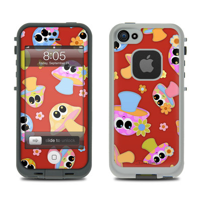 Lifeproof iPhone 5 Case Skin - Shroomies