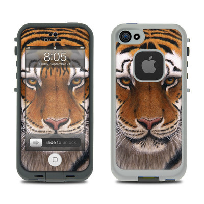Lifeproof iPhone 5 Case Skin - Siberian Tiger