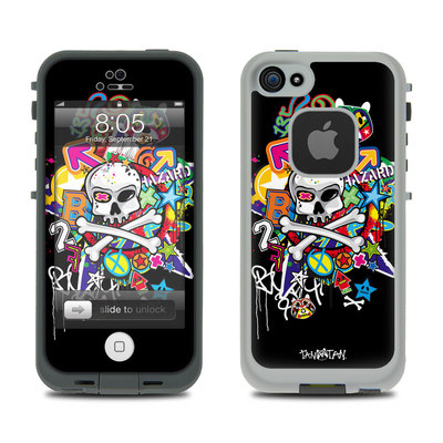 Lifeproof iPhone 5 Case Skin - Skulldaze