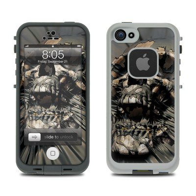 Lifeproof iPhone 5 Case Skin - Skull Wrap
