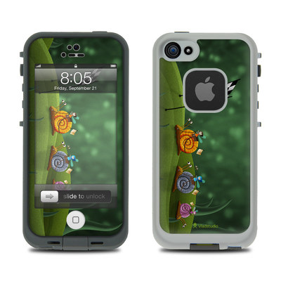 Lifeproof iPhone 5 Case Skin - Snail Race