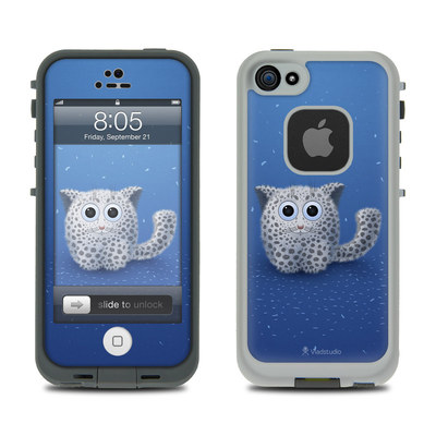 Lifeproof iPhone 5 Case Skin - Snow Leopard