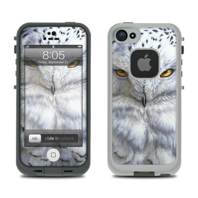 Lifeproof iPhone 5 Case Skin - Snowy Owl