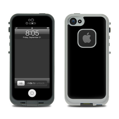 Lifeproof iPhone 5 Case Skin - Solid State Black