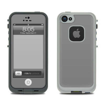 Lifeproof iPhone 5 Case Skin - Solid State Grey