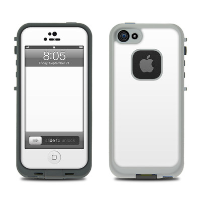 Lifeproof iPhone 5 Case Skin - Solid State White