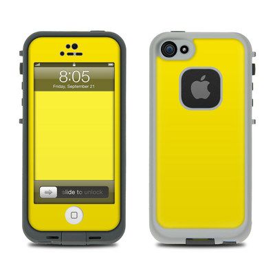 Lifeproof iPhone 5 Case Skin - Solid State Yellow