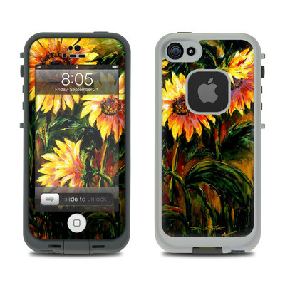 Lifeproof iPhone 5 Case Skin - Sunflower Sunshine
