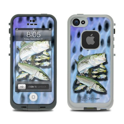 Lifeproof iPhone 5 Case Skin - Striped Bass