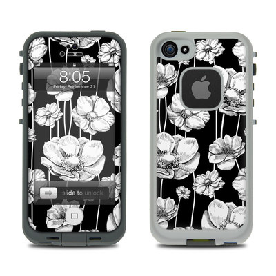 Lifeproof iPhone 5 Case Skin - Striped Blooms