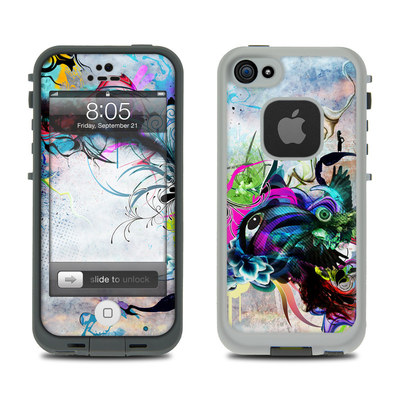 Lifeproof iPhone 5 Case Skin - Streaming Eye