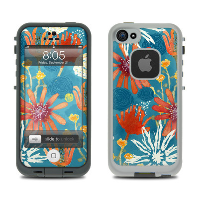 Lifeproof iPhone 5 Case Skin - Sunbaked Blooms