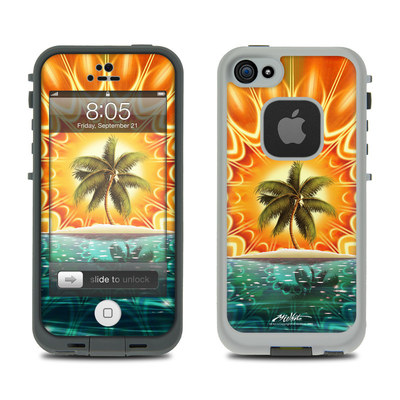 Lifeproof iPhone 5 Case Skin - Sundala Tropic