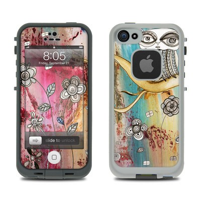 Lifeproof iPhone 5 Case Skin - Surreal Owl
