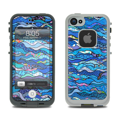 Lifeproof iPhone 5 Case Skin - The Blues