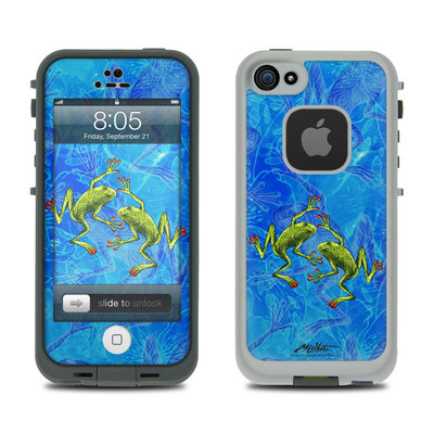 Lifeproof iPhone 5 Case Skin - Tiger Frogs