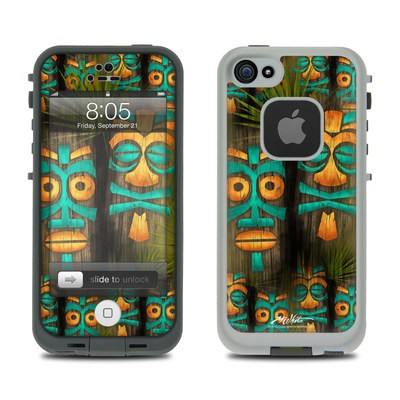 Lifeproof iPhone 5 Case Skin - Tiki Abu