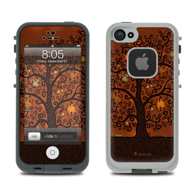 Lifeproof iPhone 5 Case Skin - Tree Of Books