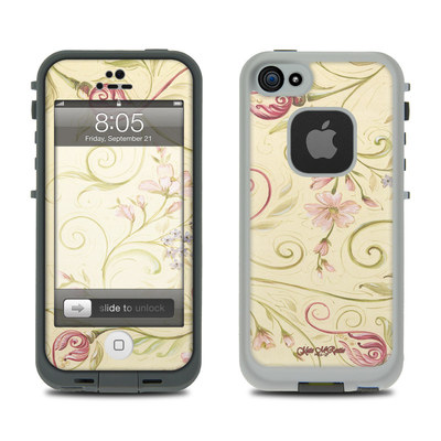 Lifeproof iPhone 5 Case Skin - Tulip Scroll