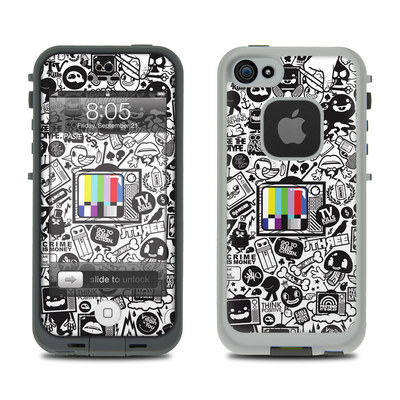 Lifeproof iPhone 5 Case Skin - TV Kills Everything