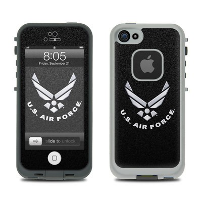 Lifeproof iPhone 5 Case Skin - USAF Black