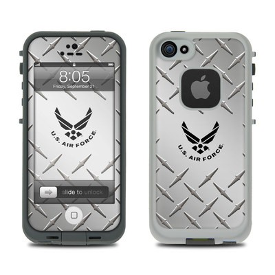 Lifeproof iPhone 5 Case Skin - USAF Diamond Plate