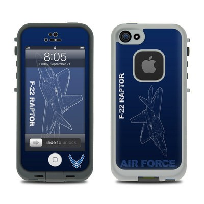 Lifeproof iPhone 5 Case Skin - F-22 Raptor