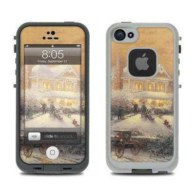 Lifeproof iPhone 5 Case Skin - Victorian Christmas