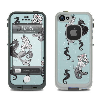 Lifeproof iPhone 5 Case Skin - Vintage Mermaid