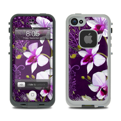 Lifeproof iPhone 5 Case Skin - Violet Worlds