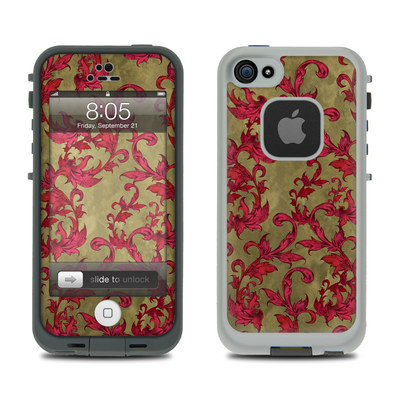 Lifeproof iPhone 5 Case Skin - Vintage Scarlet