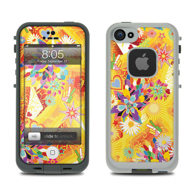 Lifeproof iPhone 5 Case Skin - Wall Flower