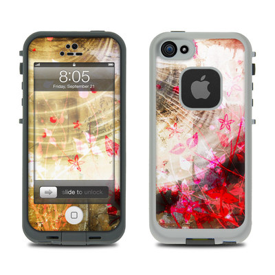 Lifeproof iPhone 5 Case Skin - Woodflower