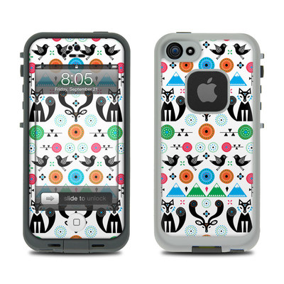 Lifeproof iPhone 5 Case Skin - Winter Forest