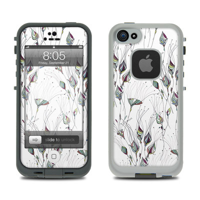 Lifeproof iPhone 5 Case Skin - Wildflowers