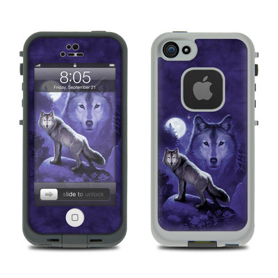Lifeproof iPhone 5 Case Skin - Wolf