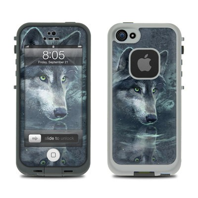 Lifeproof iPhone 5 Case Skin - Wolf Reflection