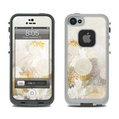 Lifeproof iPhone 5 Case Skin - White Velvet