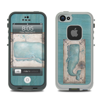 Lifeproof iPhone 5 Case Skin - Whale Watch