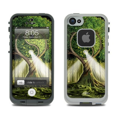 Lifeproof iPhone 5 Case Skin - Yin Yang Tree