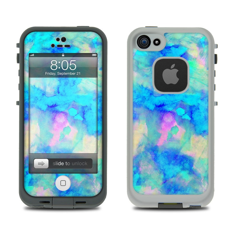Lifeproof iPhone 5 Case Skin - Electrify Ice Blue by Amy Sia  e378a5a4e