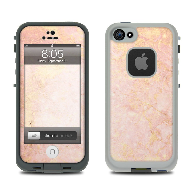 Lifeproof iPhone 5 Case Skin - Rose Gold Marble by Marble Collection ... 285e4681e9