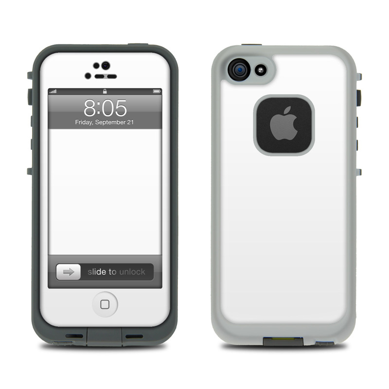 Lifeproof Iphone 5 Case Skin Solid State White By Solid