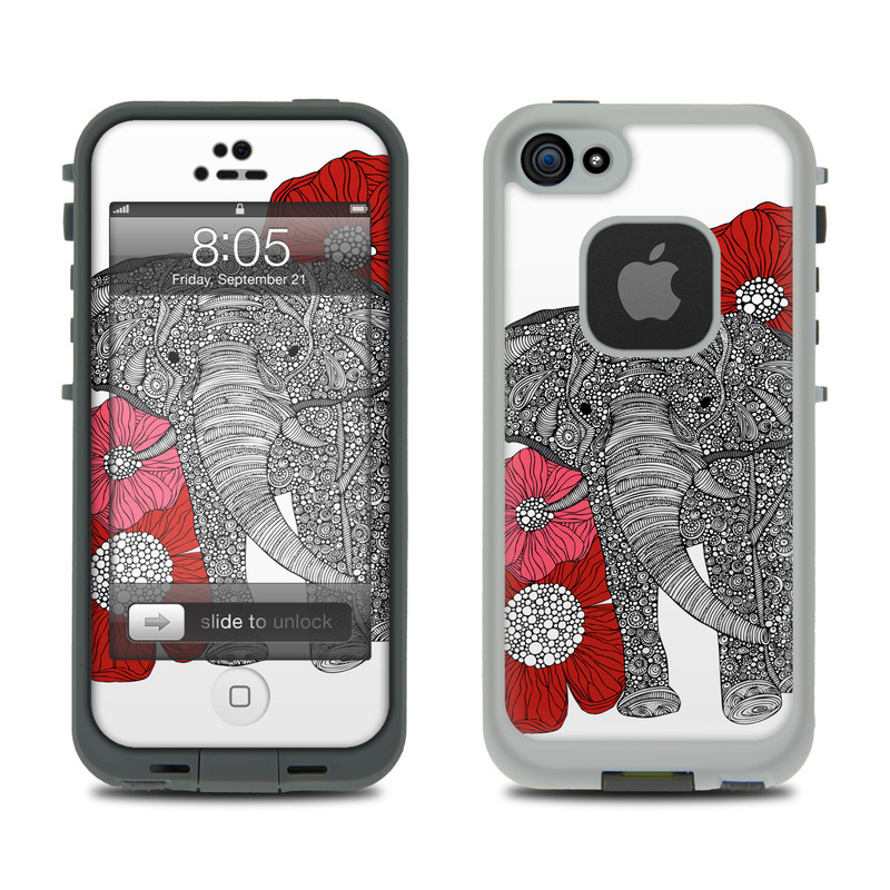 pretty nice d9ab1 10443 Lifeproof iPhone 5 Case Skin - The Elephant