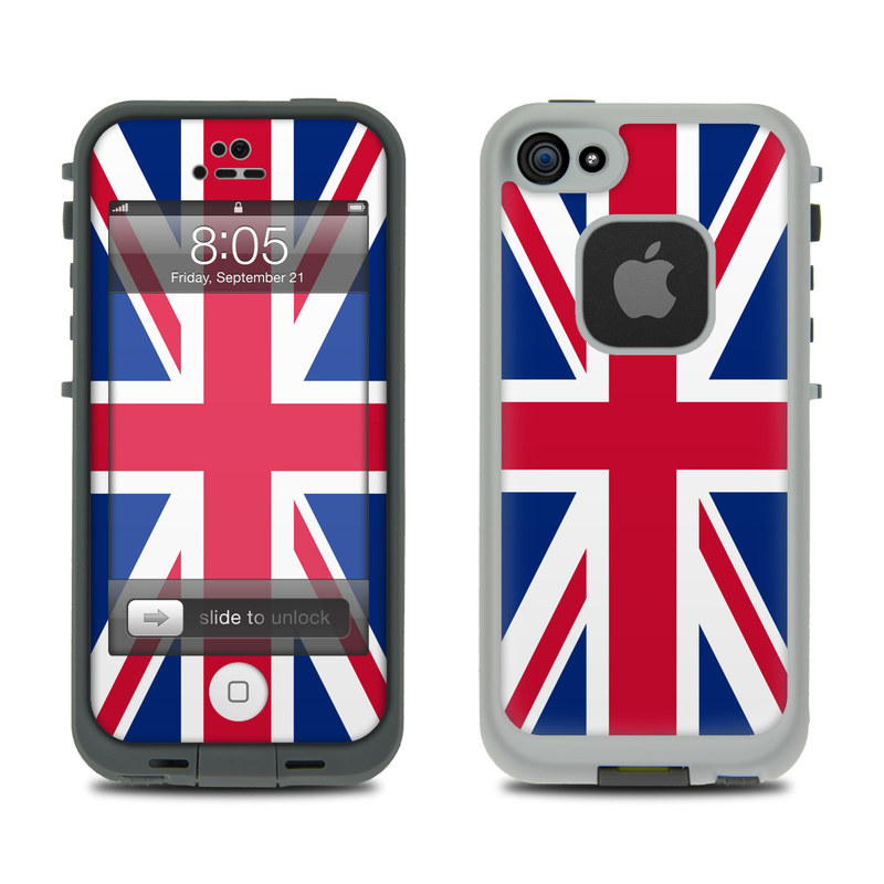 Lifeproof iPhone 5 Case Skin - Union Jack by Flags : DecalGirl