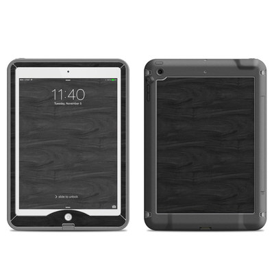 Lifeproof iPad Air Nuud Case Skin - Black Woodgrain