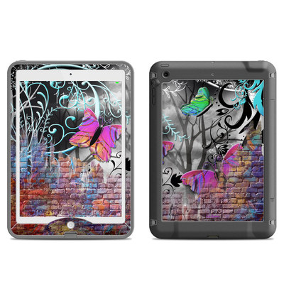 Lifeproof iPad Air Nuud Case Skin - Butterfly Wall