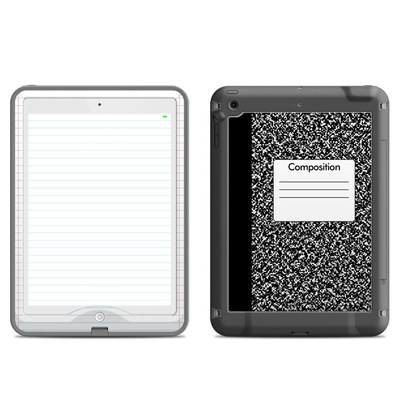 Lifeproof iPad Air Nuud Case Skin - Composition Notebook