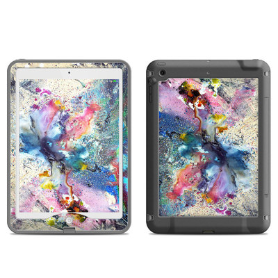 Lifeproof iPad Air Nuud Case Skin - Cosmic Flower